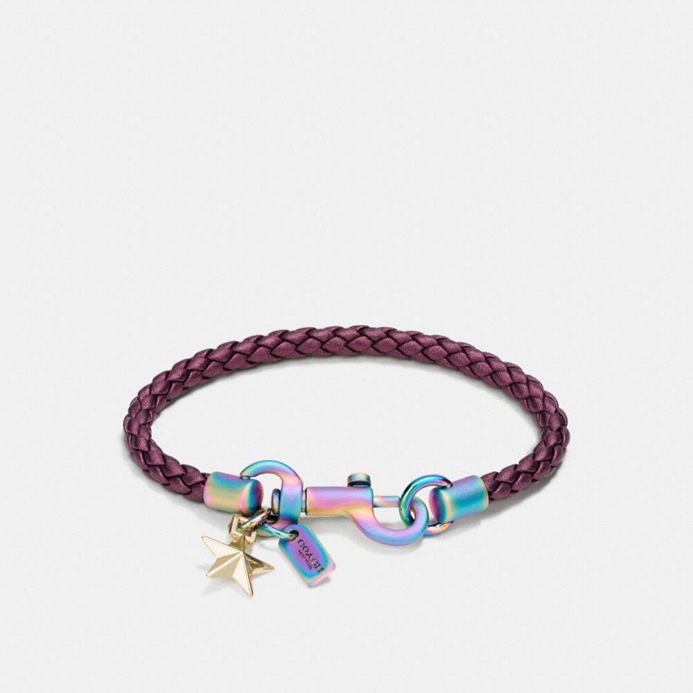 Coach Space Charms Friendship Bracelet