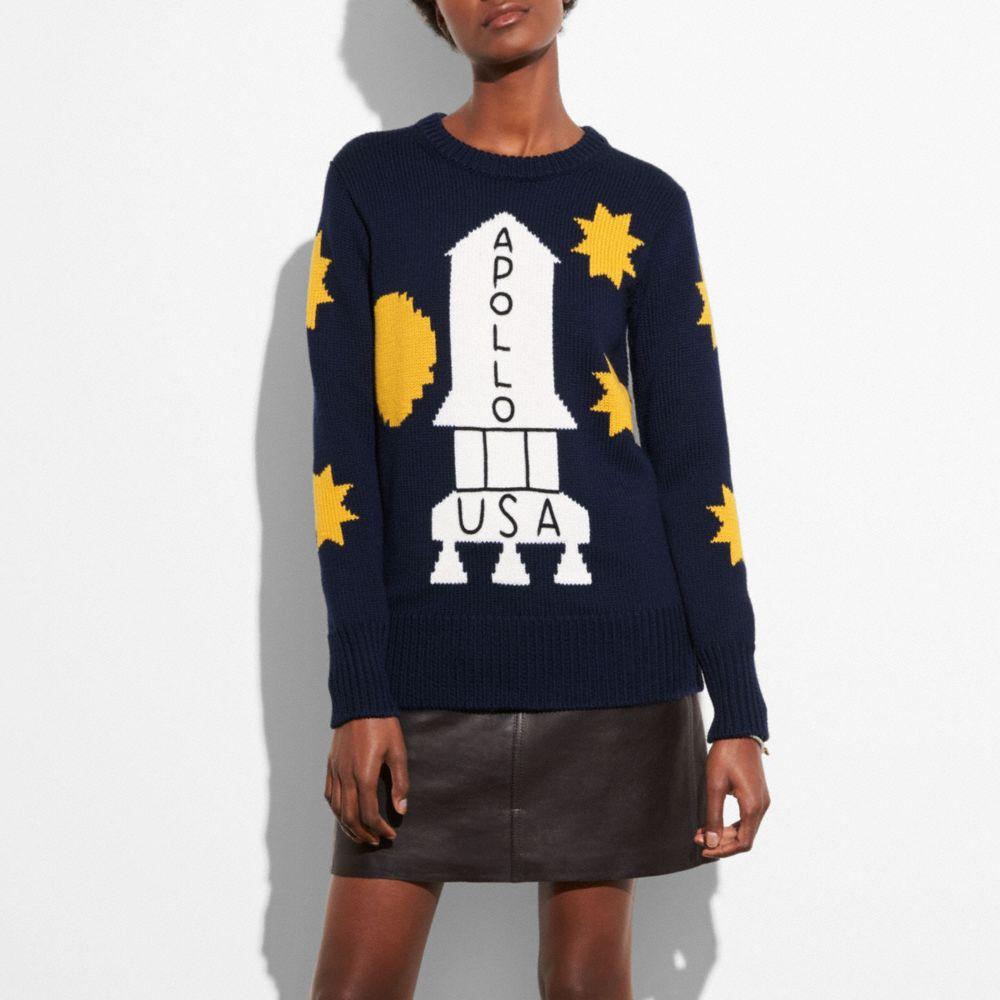 Coach Rocket Shuttle Sweater