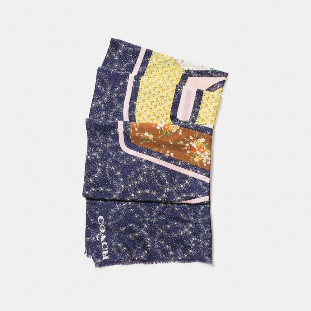 SPACE PATCHWORK OBLONG
