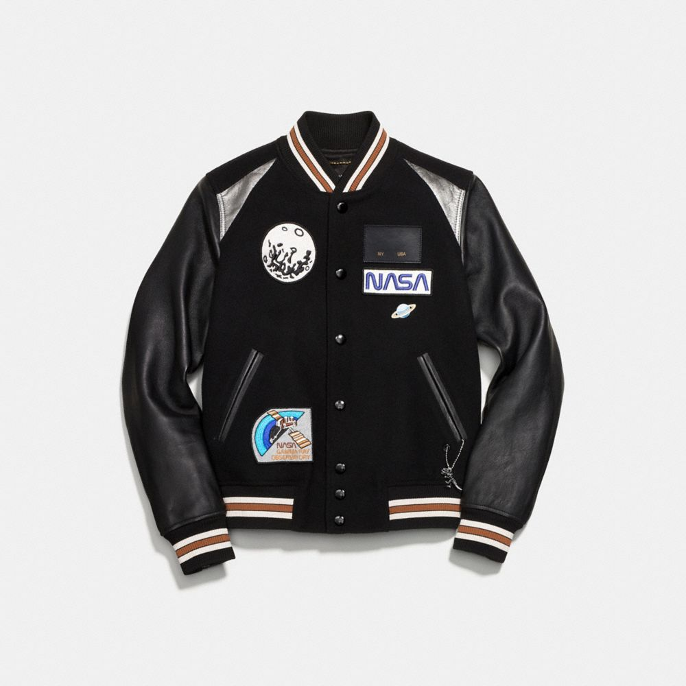 sewing how to add a lining to a varsity jacket