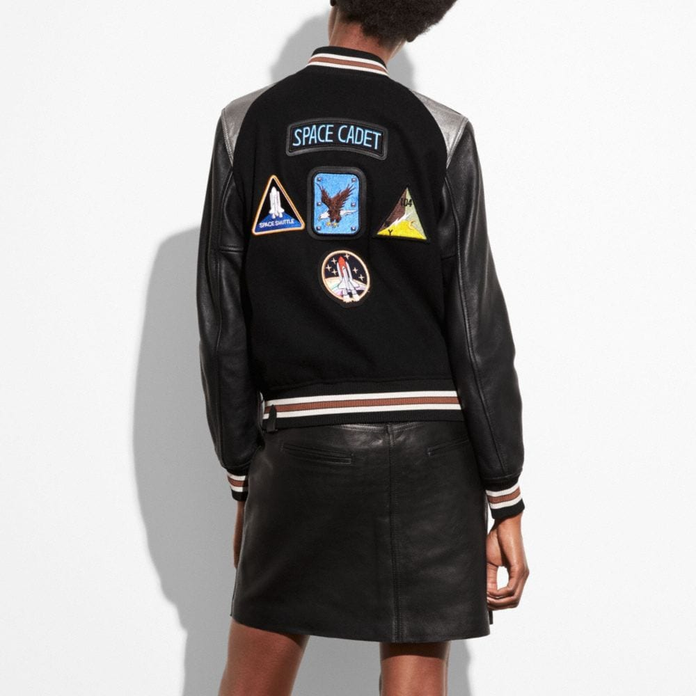 Coach Space Varsity Jacket Alternate View 2