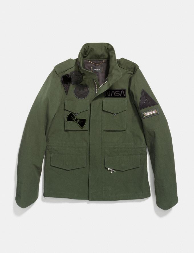 Coach M65 Jacket Khaki Green