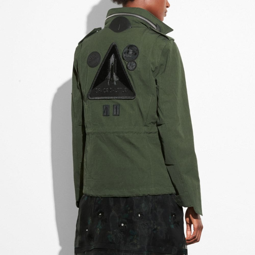 Coach M65 Jacket Alternate View 2