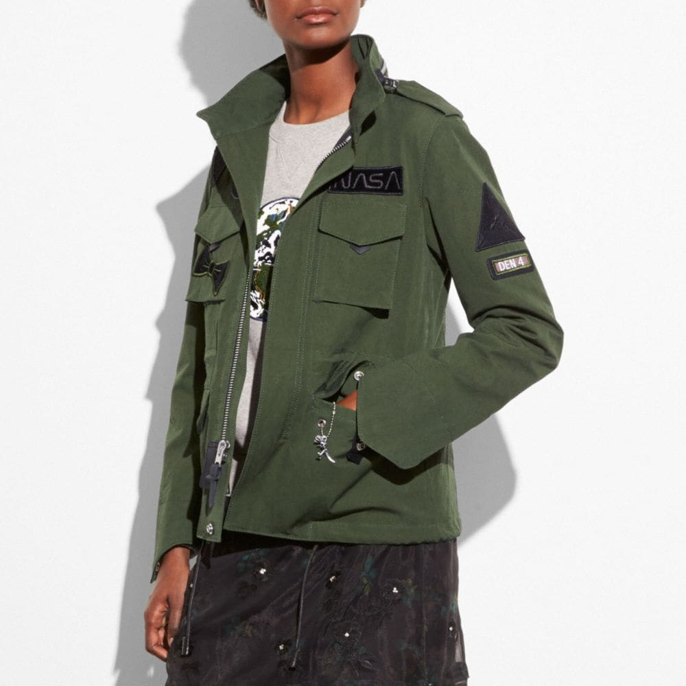 Coach M65 Jacket Alternate View 4