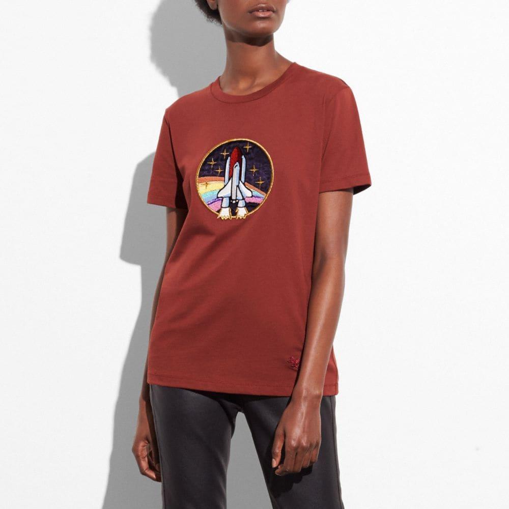 Coach Rocket Shuttle T-Shirt