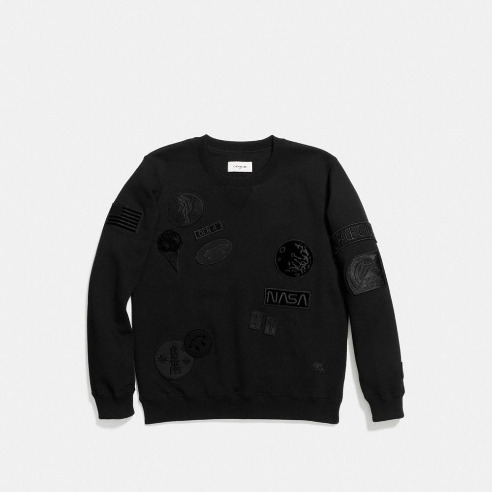 Coach Space Patch Sweatshirt Alternate View 1