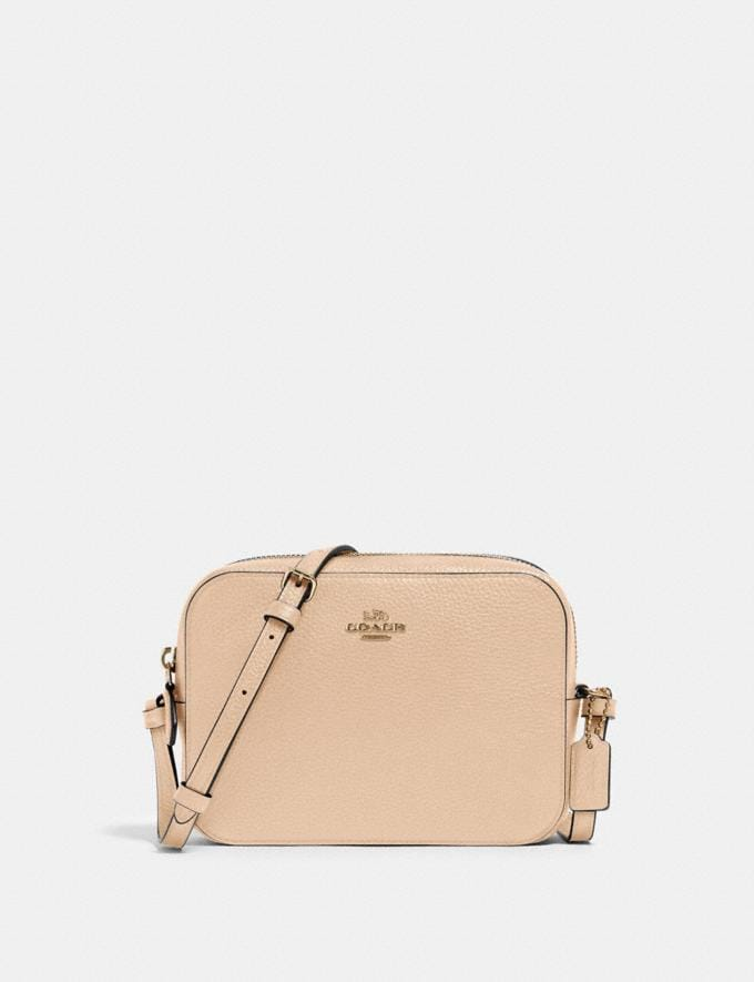 Coach Mini Camera Bag Im/Taupe Just Reduced