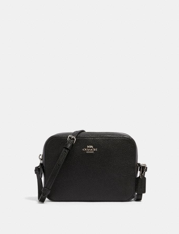 Coach Mini Camera Bag Sv/Black Deals Finds Under $100