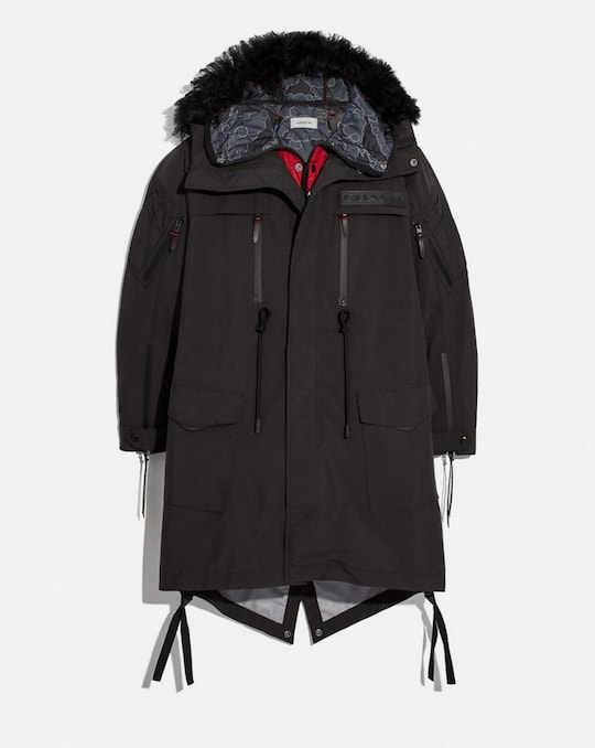 COACH X MICHAEL B. JORDAN 3-IN-1 PARKA