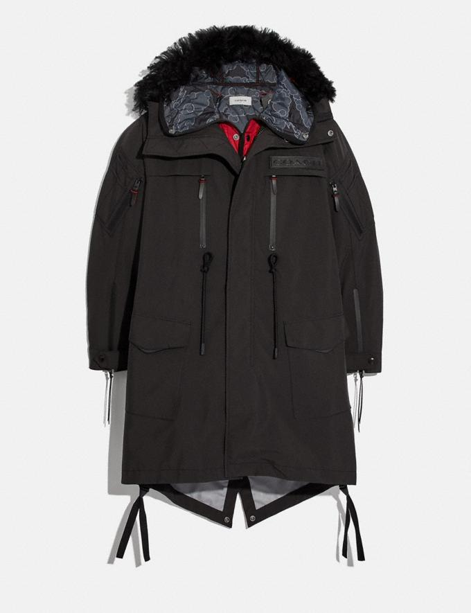 Coach Coach X Michael B. Jordan 3-In-1 Parka Black