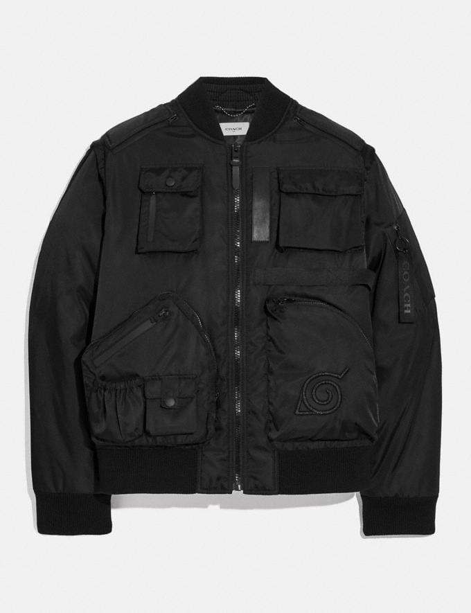 Coach Coach X Michael B. Jordan 2-In-1 Ma-1 Jacket Black