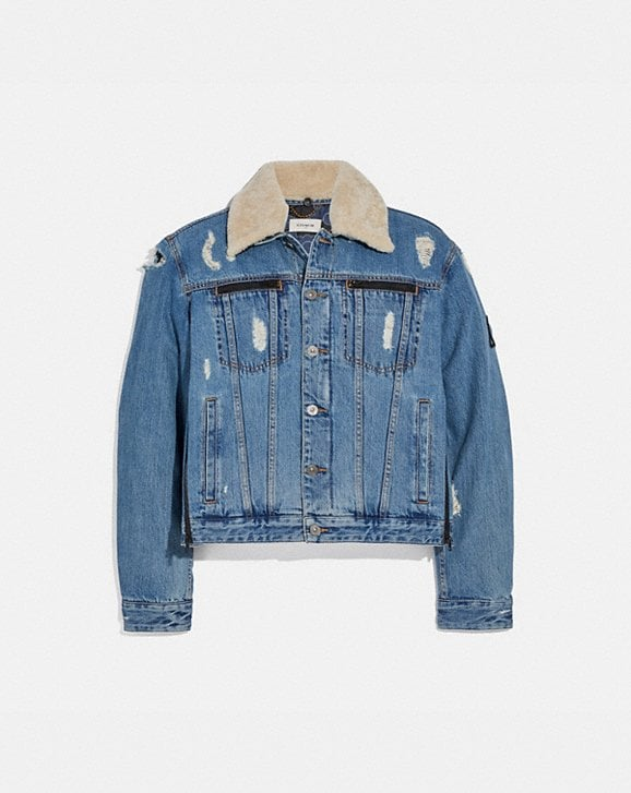 Coach COACH X MICHAEL B. JORDAN DENIM JACKET