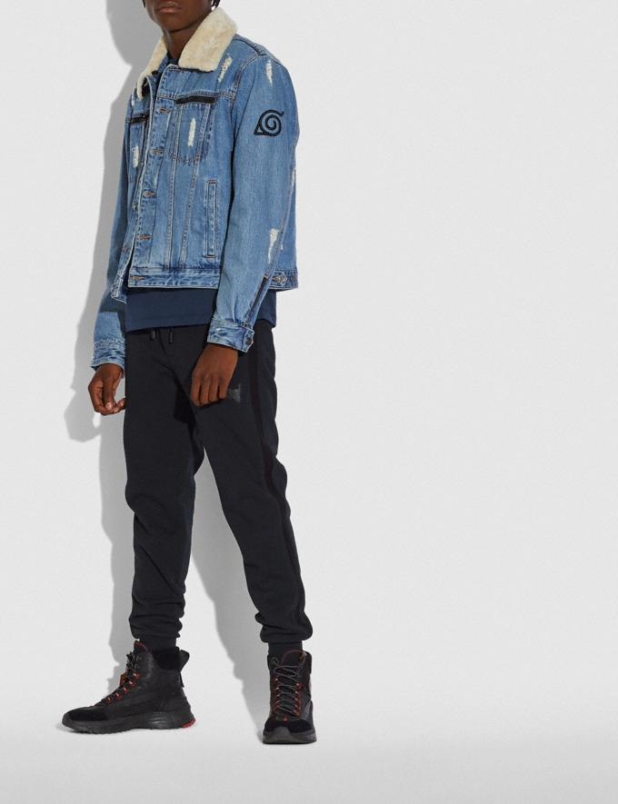 Coach Coach X Michael B. Jordan Denim Jacket Indigo DEFAULT_CATEGORY Alternate View 1