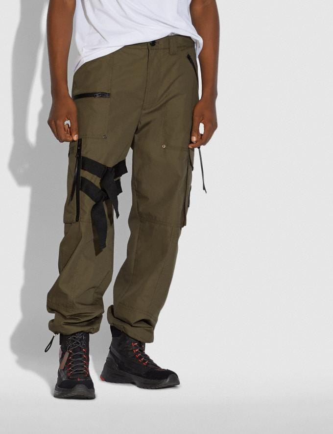 Coach Coach X Michael B. Jordan Utility Pants Ninjutsu Military Green SALE Men's Sale Ready-to-Wear Alternate View 1