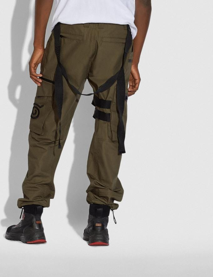 Coach Coach X Michael B. Jordan Utility Pants Ninjutsu Military Green SALE Men's Sale Ready-to-Wear Alternate View 2