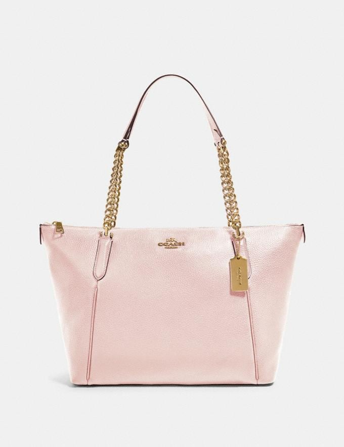 Coach Ava Chain Tote Im/Blossom 70% Off Steals