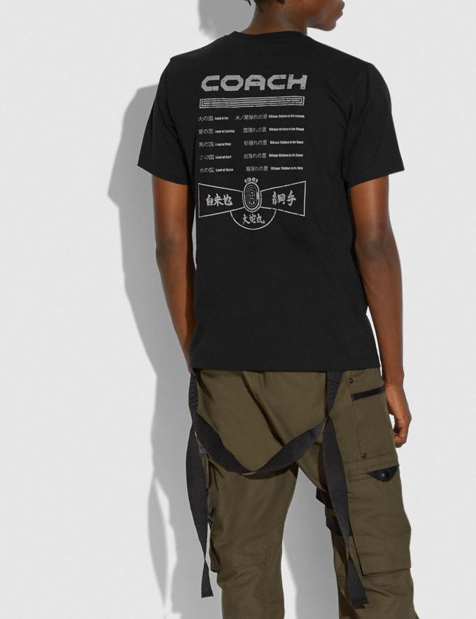 Coach Coach X Mbj T-Shirt Schwarz Neu Kooperationen Coach x Michael B. Jordan Alternative Ansicht 2