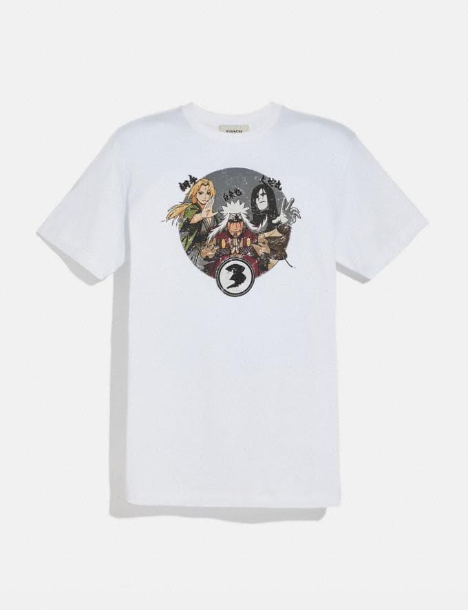 Coach Coach X Mbj T-Shirt Weiss Herren Kleidung Oberteile und Unterteile