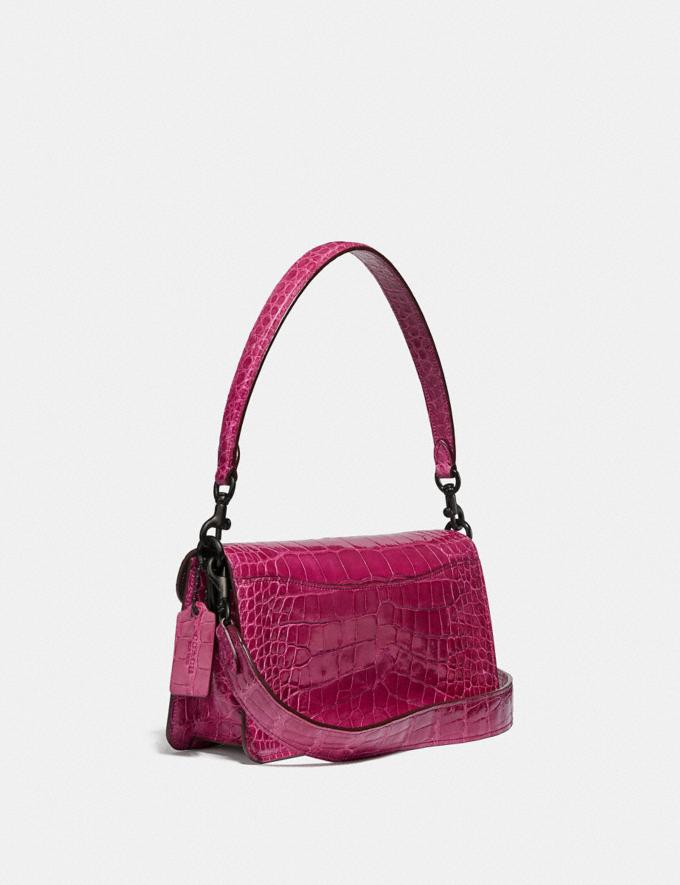 Coach Tabby Shoulder Bag 26 in Alligator Pewter/Violet Women Handbags Shoulder Bags & Hobos Alternate View 1