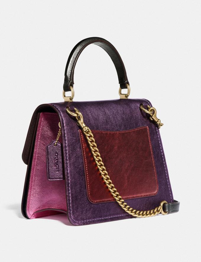 Coach Parker Top Handle in Colorblock B4/Multi Women Bags Satchels Alternate View 1