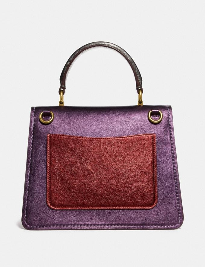 Coach Parker Top Handle in Colorblock B4/Multi Cyber Monday Alternate View 2