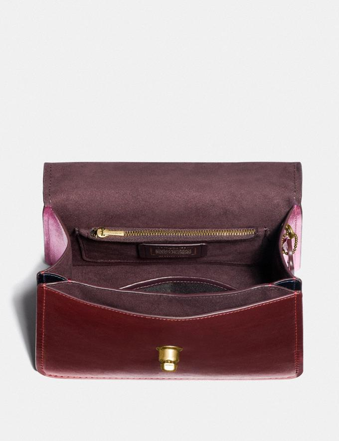 Coach Parker Top Handle in Colorblock B4/Multi Women Bags Satchels Alternate View 3