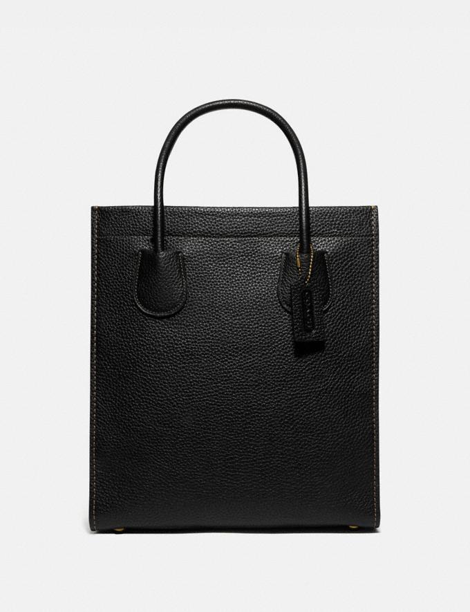 Coach Cashin Carry Tote 29 Brass/Black Women Handbags Totes & Carryalls