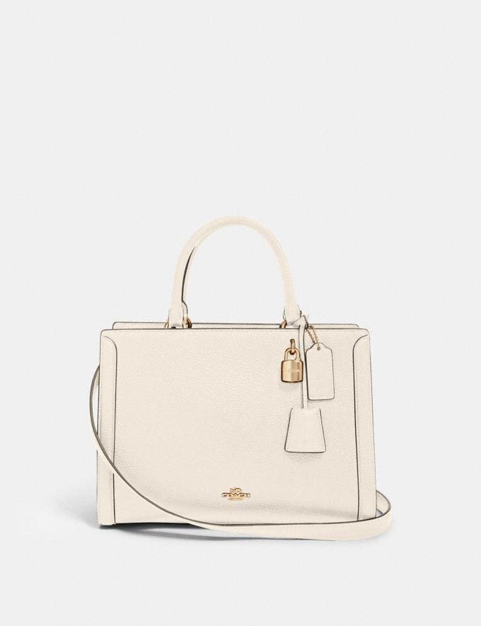Coach Zoe Carryall Im/Chalk What's New