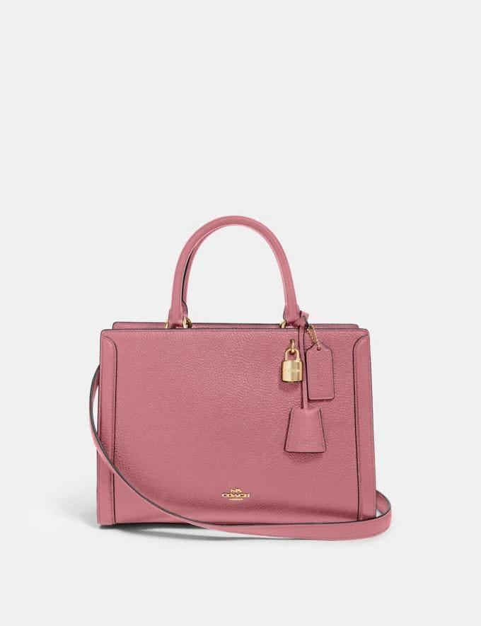 Coach Zoe Carryall Im/Rose Bags Bags Carryalls