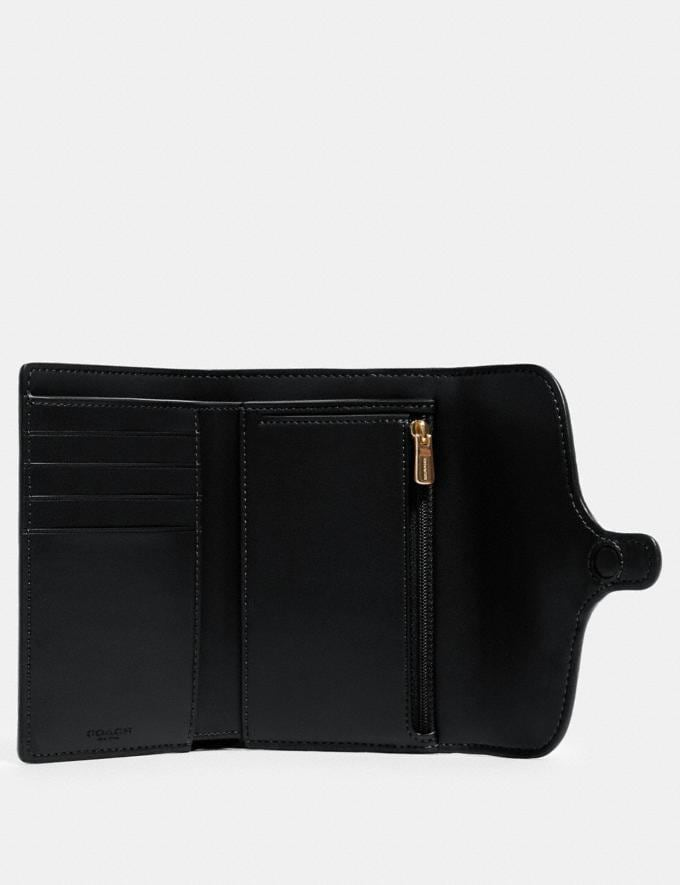 Coach Jade Medium Envelope Wallet Im/Black  Alternate View 1