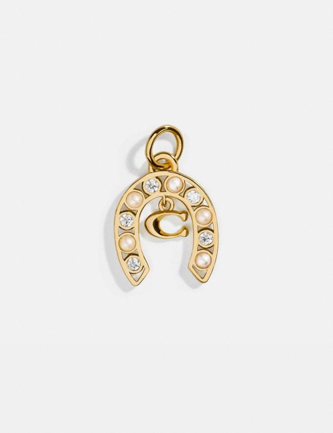 Coach Collectible Horseshoe Signature Charm Silver/Gold Women Accessories Jewelry & Watches