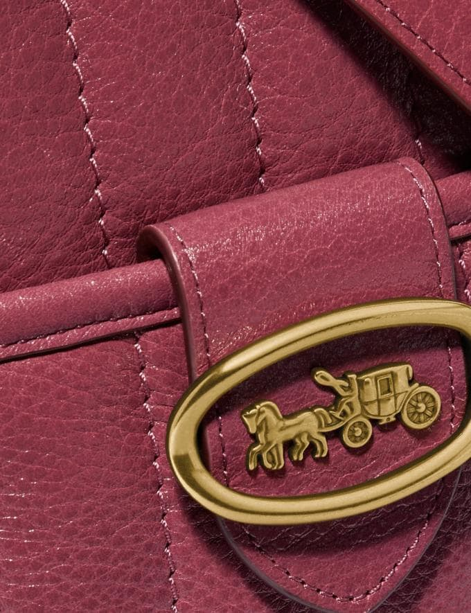Coach Kat Camera Bag With Quilting Brass/Dusty Pink New Women's New Arrivals Collection Alternate View 3
