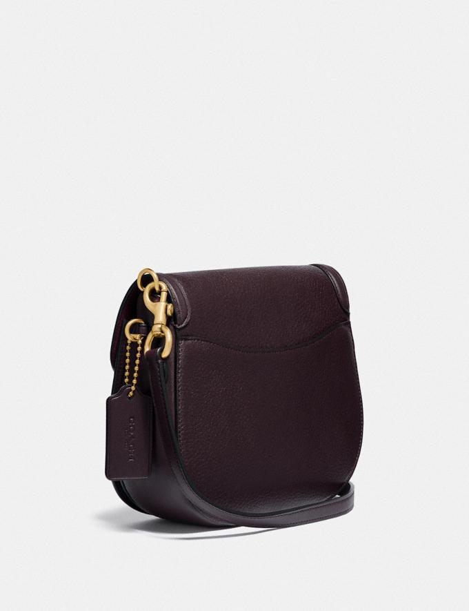 Coach Kat Saddle Tasche 20 B4/Ochsenblut Damen Taschen Umhängetaschen Alternative Ansicht 1