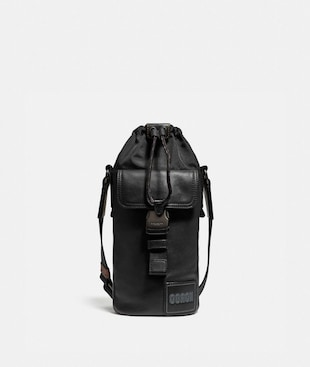 PACER DRAWSTRING CROSSBODY WITH COACH PATCH