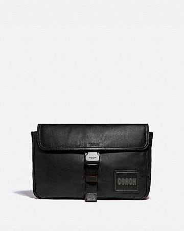 pacer belt bag crossbody with coach patch
