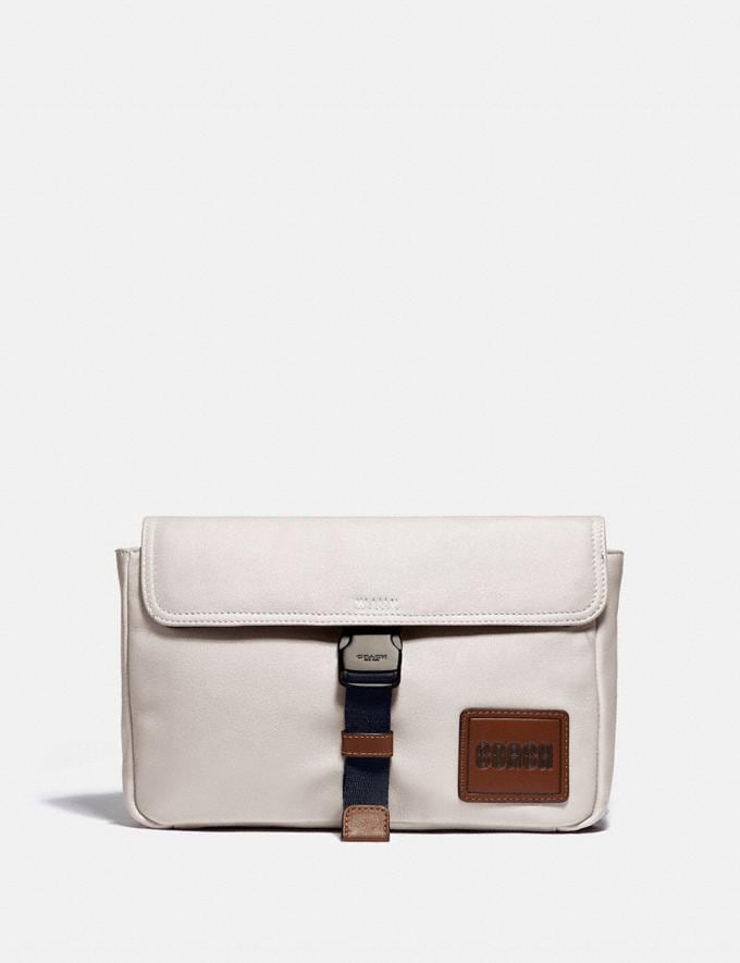 Coach Pacer Belt Bag Crossbody With Coach Patch Black Copper/Chalk Gifts For Him Bestsellers