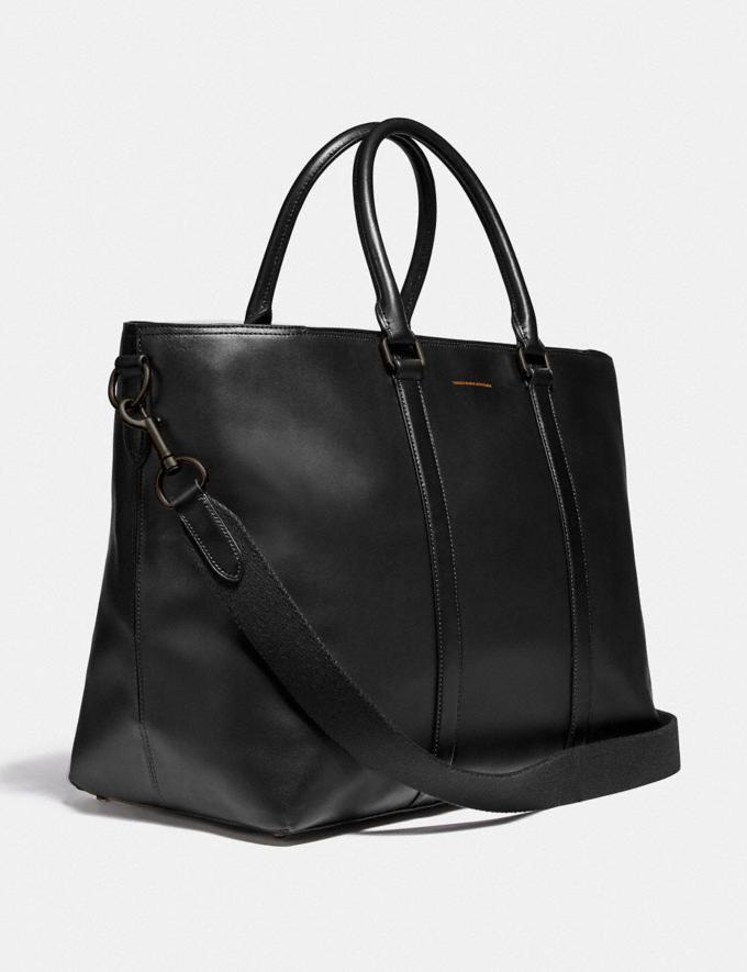 Coach Metropolitan Weekender Tote Black Copper/Black New Men's New Arrivals View All Alternate View 1
