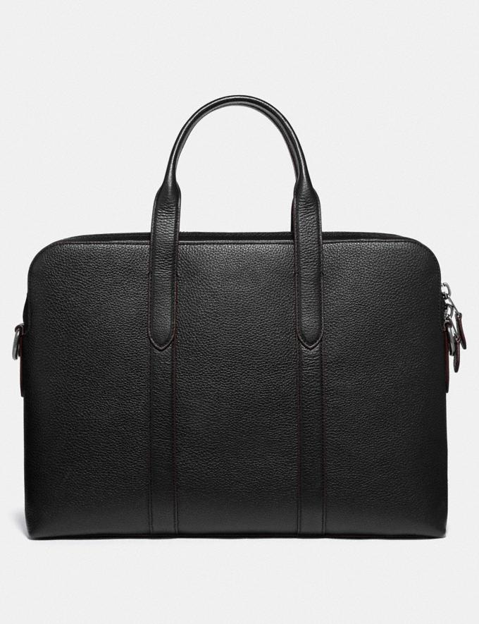 Coach Metropolitan Soft Brief Qb/Black Men Bags Briefcases Alternate View 2