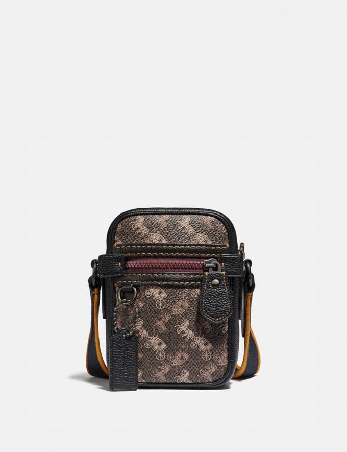 Coach Dylan 10 With Horse and Carriage Print Black Copper/Black Brown New Featured Online Exclusives