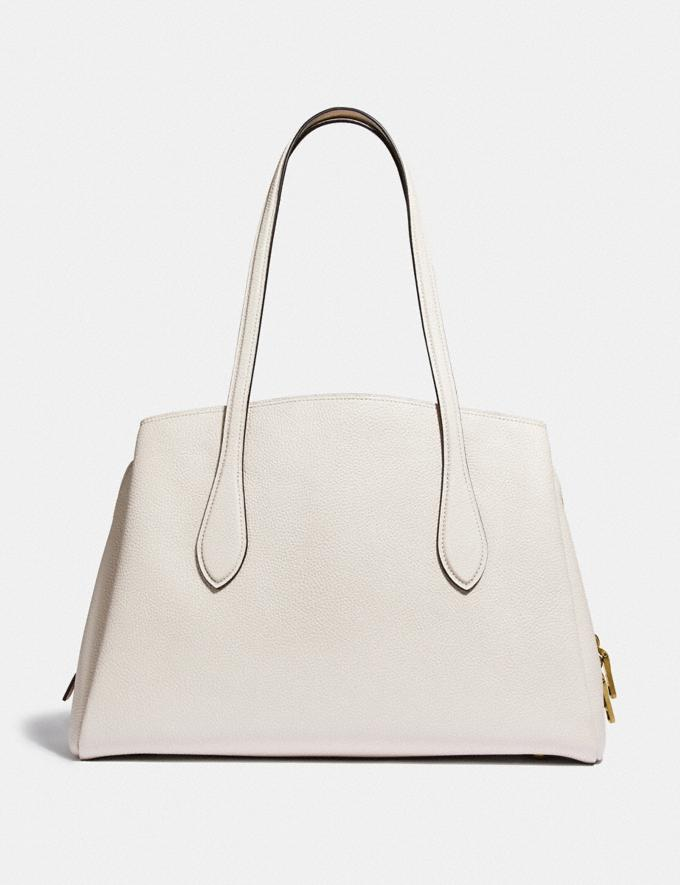 Coach Lora Carryall Brass/Chalk Gifts For Her Under $500 Alternate View 2