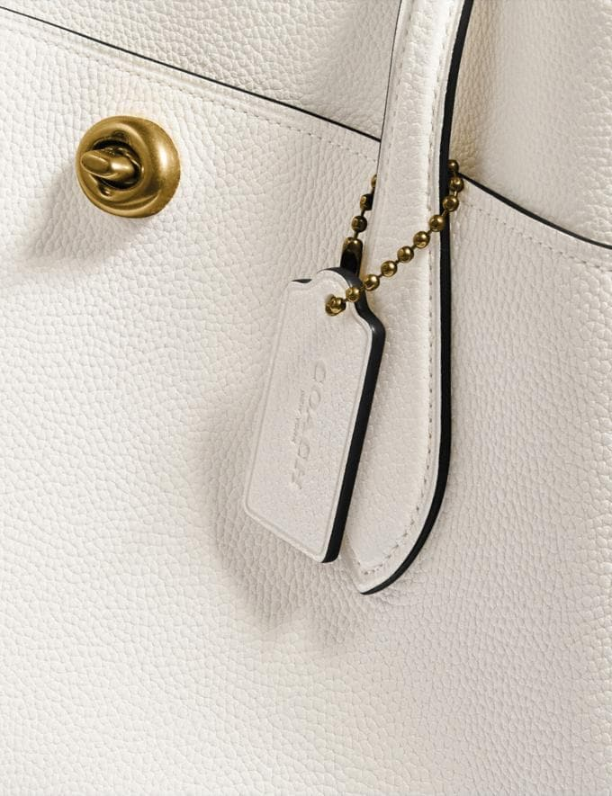 Coach Lora Carryall Brass/Chalk Gifts For Her Under $500 Alternate View 6