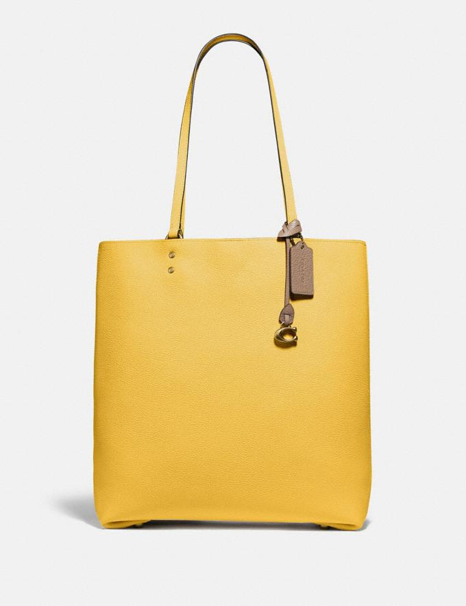 Coach Plaza Tote B4/Sunlight New Women's New Arrivals