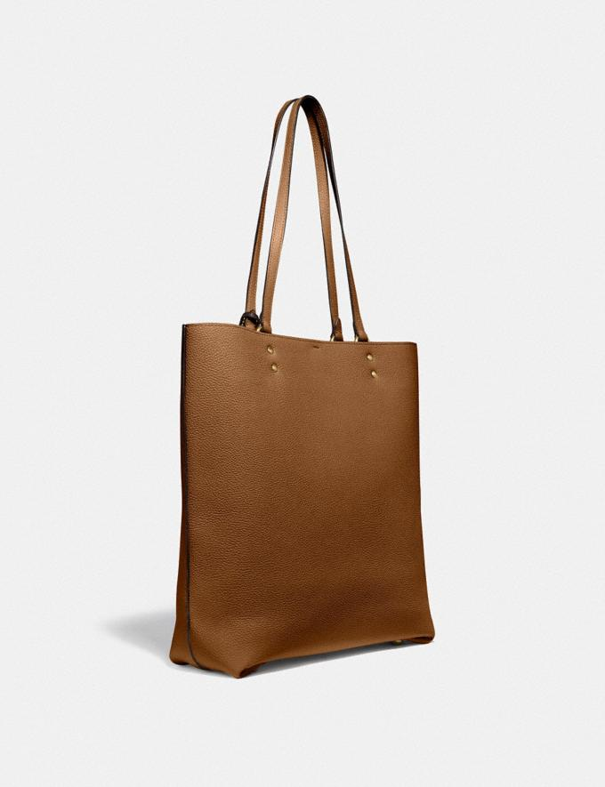 Coach Plaza Tote Brass/Sienna SALE Women's Sale Alternate View 1