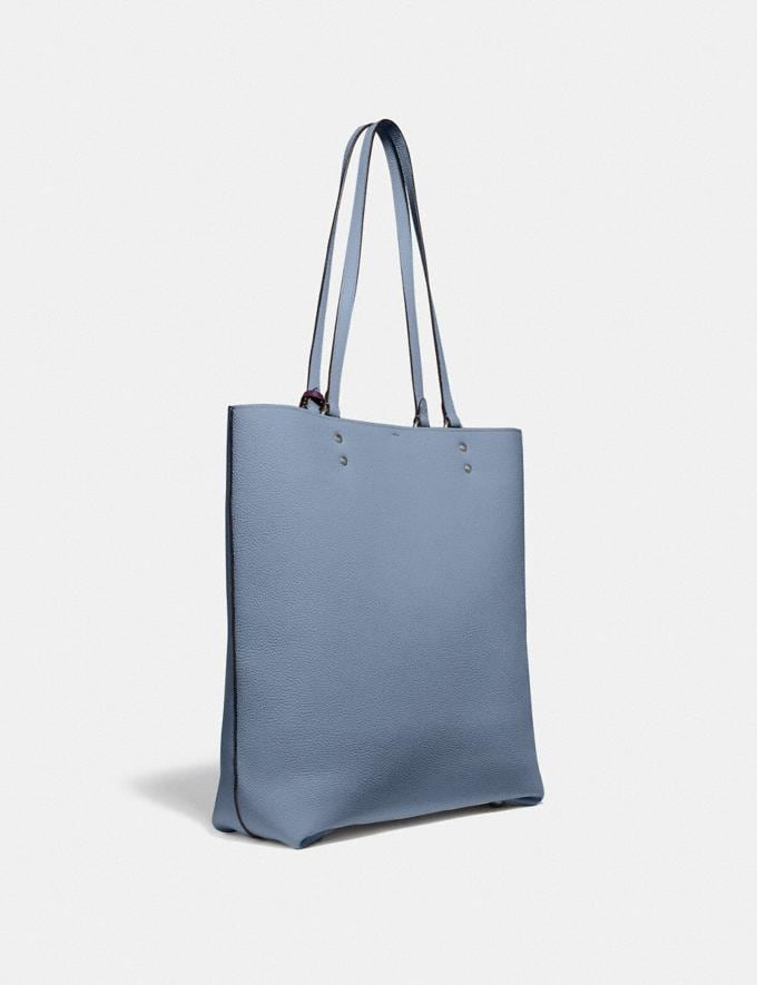 Coach Plaza Tote Pewter/Bluebell SALE Women's Sale Alternate View 1
