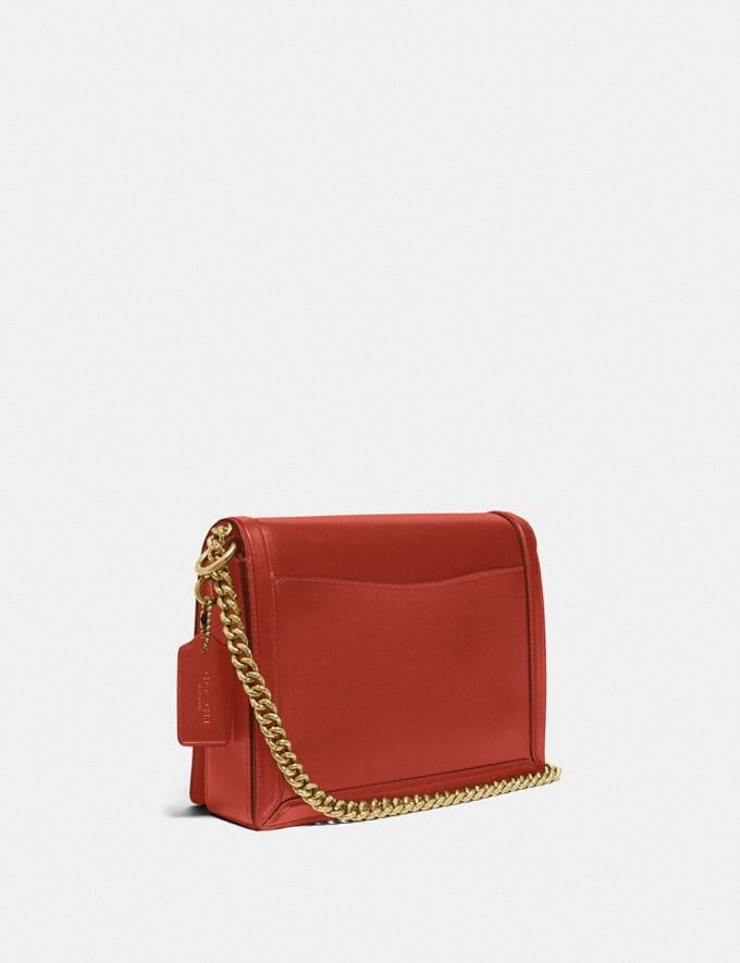 Coach Hutton Shoulder Bag B4/Red Sand Gift For Her Copy of Under €250 Alternate View 1