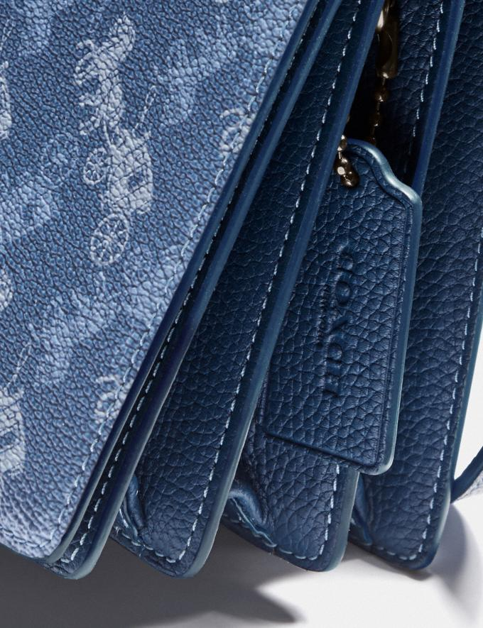 Coach Camille Crossbody With Horse and Carriage Print and Archive Patch V5/Blue True Blue  Alternate View 4