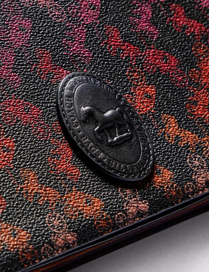 Coach Camille Crossbody With Horse and Carriage Print and Archive Patch Pewter/Multi Black  Alternate View 4
