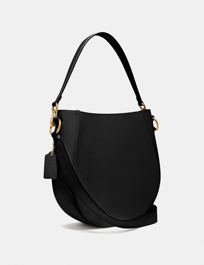 Coach Maddy Hobo Brass/Black New Women's New Arrivals Alternate View 1