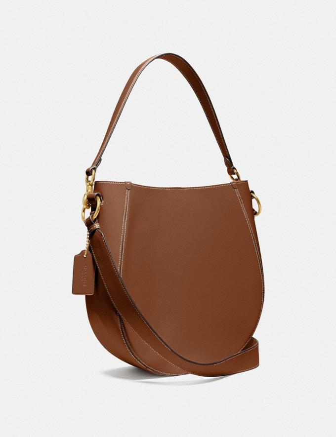 Coach Maddy Hobo Brass/Sienna New Women's New Arrivals Alternate View 1