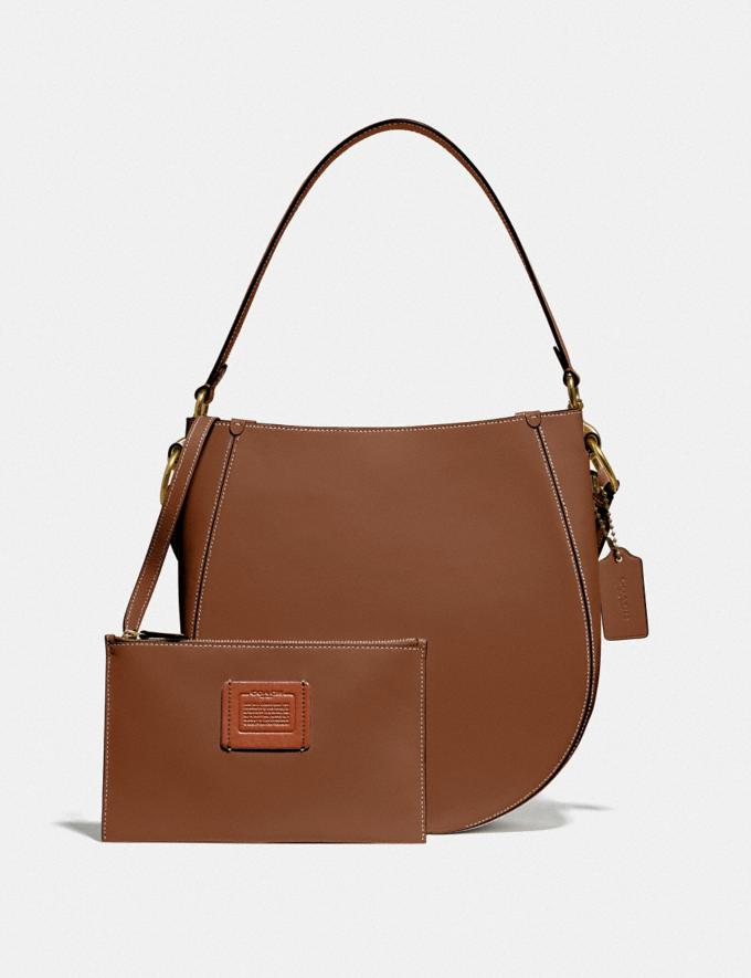 Coach Maddy Hobo Brass/Sienna New Women's New Arrivals Alternate View 4